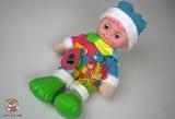 """Кукла поющая тактильная развивающая моторику пальчиков """"Пуговка"""" 080211 (853630R) - Код-1003"""