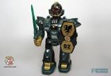 Робот маленький на батарейках - Hap-P-Kid Cybotronix Mighty Warrior 3571T (ходит, вращается, звуки, свет) зеленый - Код-410
