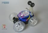 Машинка трюковая с пультом ДУ - Jun Xiang Toys (LX) Incredible Tornado 9028C - Код-511