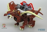 """Дракончик конструктор в яйце - MegaBloks Dragons Universe """"Clawripper"""" 95202 (коричневый) - Код-546"""