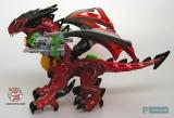"""Дракончик конструктор - MegaBloks Dragons Universe """"Flarestorm"""" 95217 (красный) - Код-551"""