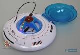 """НЛО летающее с базой-пультом ДУ - 2.5"""" Flipo Remote Control Micro UFO - Код-577"""
