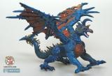 Дракончик конструктор каучуковый - Dragons of the Underdark 69140 (синий) - Код-607