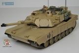 Танк огромный на радиоуправлении стреляющий снарядами - Hobby Engine М1А2 ABRAMS 0817 - Код-753
