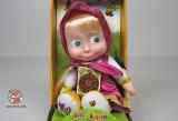 Мягкая интерактивная игрушка Маша - Маша и Медведь (рассказывает три сказки, RUS) N767