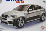 Машинка (конструктор металлический) - Bburago 18-15054 BMW X6M (серебристый, 1:18) - Код-774