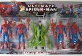 Фигурки Игровые Набор Человек-Паук Ultimate Spider-Man 4 - 1750 (5 героев, на планшетке 41*24см) - Код-807