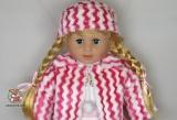 """Кукла большая """"Катя"""" 20068 (795105) - с которой можно разговаривать по русски (моргают глазки) - Код-820"""