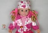 """Кукла большая """"Белинда"""" 68030-R (834182) - с которой можно разговаривать по русски (с мимикой лица) - Код-821"""