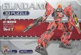 3D Пазл Бевой Робот Трансформер - GD-010 Gundam Transformer-Robot - Код-844