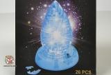 3D Пазл Кристалл-Капля (пластик) 9010A - Код-853