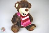 Мягкая интерактивная игрушка Медведь - 060602-U Колобок и Колосок (рассказывает две сказки, UKR) - Код-898