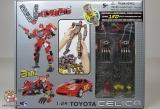 Трансформер Робот-Машина (конструктор) - V-Create 54010R TOYOTA CELICA (1:24) - Код-941