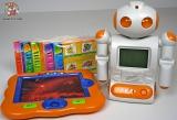Детский Компьютер обучающий Робот с планшетом - Всезнайка 8600/8700 (рус+англ) (2 вида) - Код-965