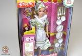 Кукла с набором аксессуаров для кухни 0806-2 (524194) - Код-971