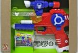 Пистолет игрушечный 612 (575142) Трансформер (звуки, свет, на батарейках) - Код-989